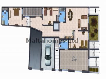 Maisonette G/Floor in Bugibba image 1